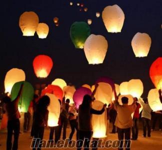 Gökyüzü, Dilek Feneri, Uçan Fener, Uçan Balon EN UCUZ !!
