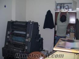 satılık matbaa makinesi, heidelberg gto