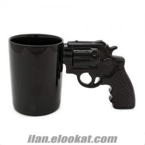 Gun Mung Silah Şeklinde Kupa Bardak