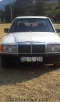 mercedes 190 d 1984 model sedan beyaz