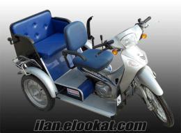 iki kişilik engelli motoru
