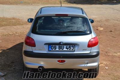 Sahibinden Peugeot 206 - Tertemiz FULL PAKET - 118.600 km