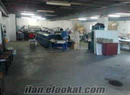 Denizlide sahibinden satılık tekstil baskı atölyesi