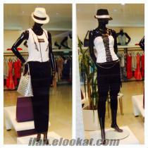VITRIN Mankeni 9 adet&büst manken 3adet ve elbise askılığı 500 TL