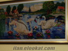 İşlenmiş goblen tablo