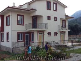 Fethiye karadere de satılık triblex villa