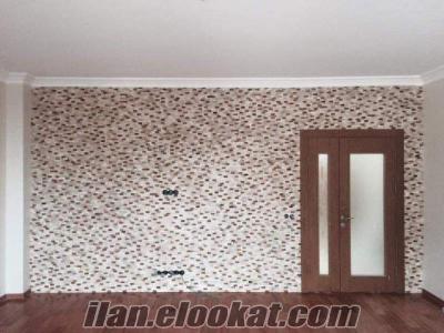 Tv duvar kaplama taş duvar taşları traverten patlatma taş