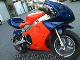Pocket bike yarış motoru