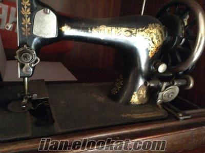 Antika singe dikiş makinası