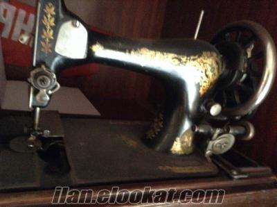 Singer dikiş makinası antika