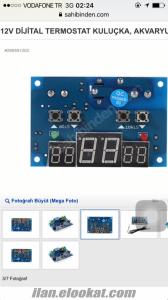 12V Dijital termostat ile sıcak , soğuk ayarı yapınız