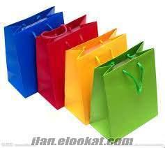 matbaa ve reklam ajanslarına özel fıyatlar büküm saplı çanta