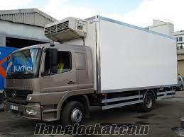 Bağcılarda frigolu kamyon