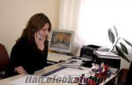 Bodrum ofisimiz için Sekreter