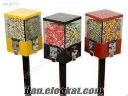 sakız şeker otomat makinesi