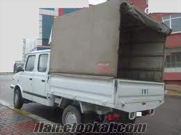 2005 model 2 adet çift kabin tenteli yeni vizeli temiz kamyonet