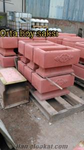 Beton saksı kolon şapkası imalatı