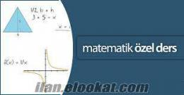 İstanbul Üniversitesi Matematik Mezunundan Ankara