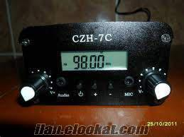 satılık 7 watt fm verici yanındada 60 watt fm amplifikatör kit