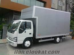 kiralık kamyon İstanbul