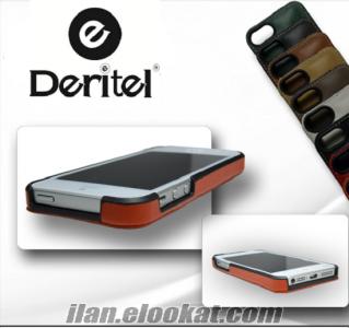 iphone 6 Kılıf Herakles Gerçek Deri Cüzdan Kılıf Siyah