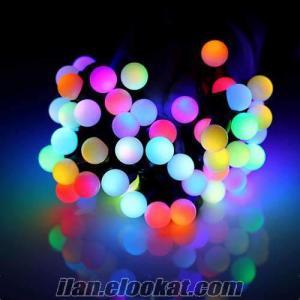 Işıklı Renk Değiştiren Dekoratif Yılbaşı Süsleri