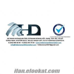 HD bakıcılık hizmetleri