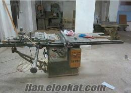 2 Adet marangoz makinesi kompresör ve el makineleri