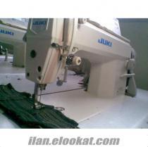 Dikiş Makinaları (tekstil) Satılık Juki Yarım otomatik Düz