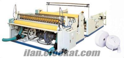 Laminasyonlu Jumbo Tuvalet Kağıdı Makinası -Enmotion Havlu Makinesi-