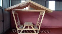 Kamelyalı Piknik Masası #GM 25