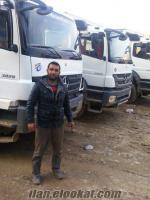 2010 ve üzeri çift çeker kamyonlar kiralanır