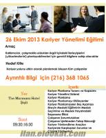 26 Ekim 2013-Kariyer Yönetimi Eğitimi