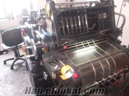 satılık 46x58.5 heidelberg kazanlı kesim makinası