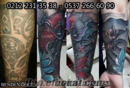 cover up koi tattoo models murat