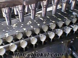 Dondurma Külah Makineleri Ve Kalıpları Satılık