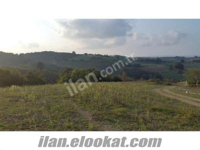 kandırada p.pınar köyünde yola cepheli manzaralı arazi-