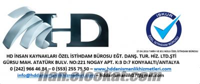 HD İNSAN KAYNAKLARI İŞKUR ÖZEL İSTİHDAM BÜROSU LTD.ŞTİ.