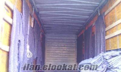 kiralık on teker kamyon kayar perde 8 metre kapalı kasa
