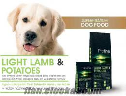 PROFİNE ADULT LİGHT LAMB & POTATOES KUZU ETLİ KÖPEK MAMASI 15 KG