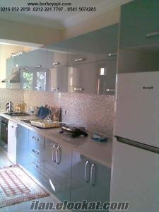 mutfak yenileme, tadilat, dolap ray dolapları vestiyer modelleri istanbul imal