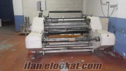 satılık bobin kağıt pvc dilimleme kesme makinası