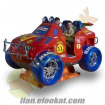 Kiddie Rides Jetonlu Jeep Magnum