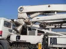 1991 model putzmeister 32 mt mobil beton pompası