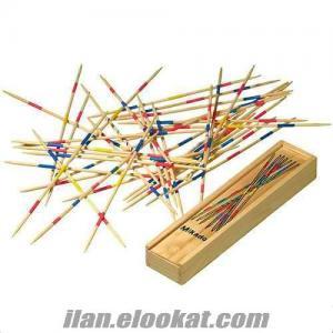Mikado Spiel Ahşap Oyun Çubukları