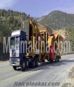 Satılık Mobil konkasör tesisi M-K20