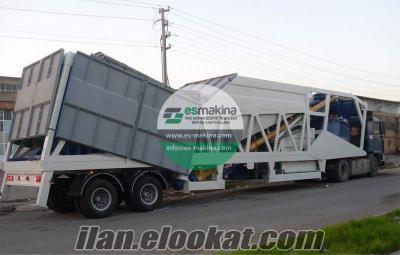 Satılık Beton Santrali - Mobil Beton Santrali