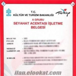 türsab a grubu seyahat acente belgesi aranıyor...