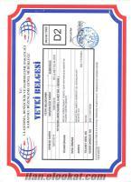sahibinden kiralık d2 belgesi