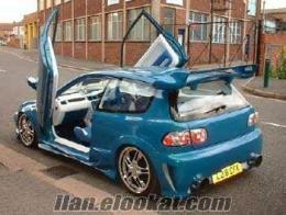 satılık modifiyeli araba otomatikkapı